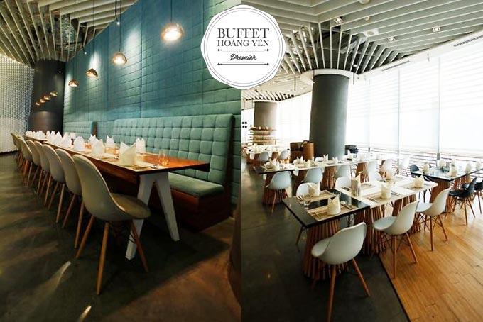 chuỗi nhà hàng hoàng yến buffet premier 1