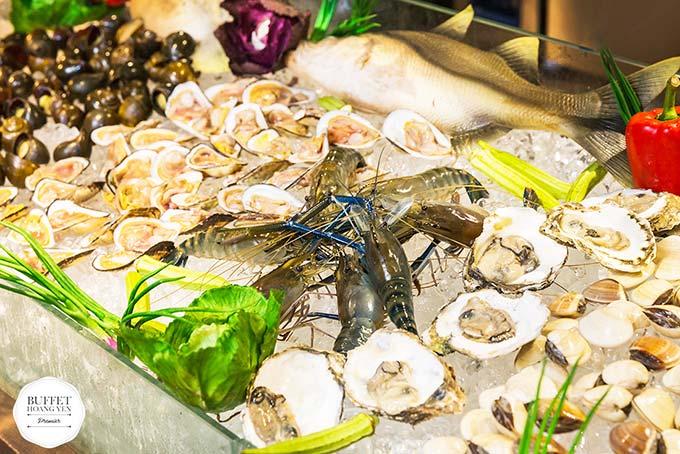 chuỗi nhà hàng hoàng yến buffet premier 16