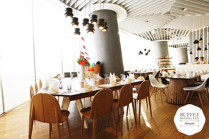 chuỗi nhà hàng hoàng yến buffet premier 5