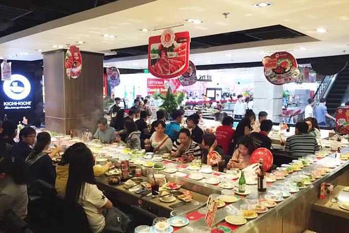 Top 5 nhà hàng buffet lẩu băng chuyền ngon nhất Hà Nội 1