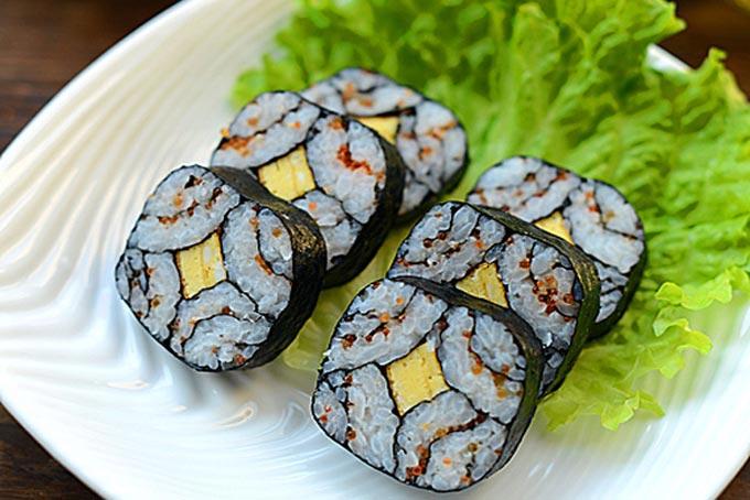 cách làm sushi 1
