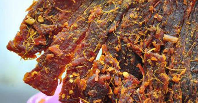 cách làm thịt bò khô bằng chảo 1