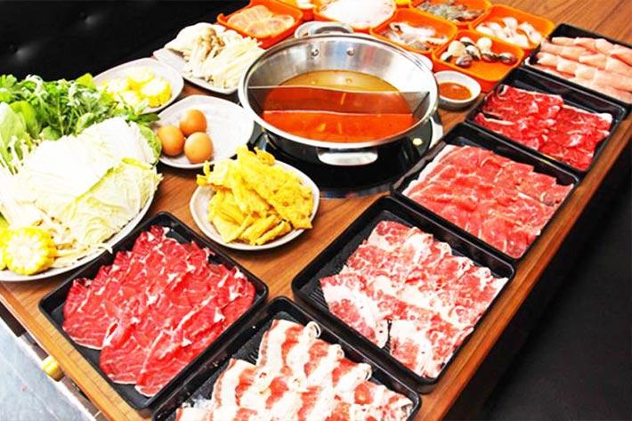 Kết quả hình ảnh cho Buffet lẩu Suki – Nhật Bản tại thái lan