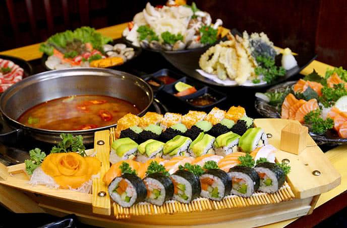 top 20 nhà hàng buffet giá rẻ hà nội 7