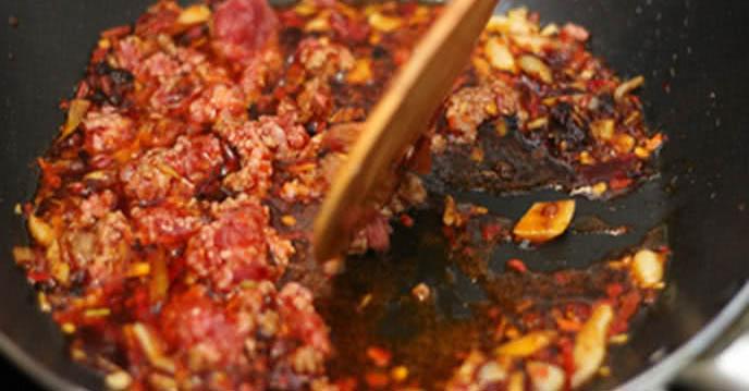 Tổng hợp 4 món ăn ngon cơm - đậu sốt tứ xuyên 2