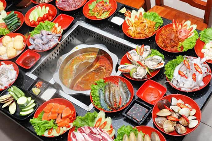 buffet lẩu nướng hà nội 4